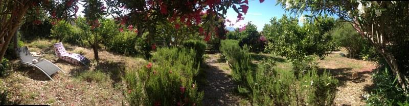 Jardin privatif for Jardin principal location
